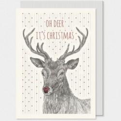 Carte postale - East of India - Oh deer