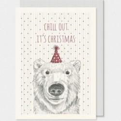 Carte postale - East of India - Polar bear