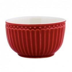 Mini Bol - Greengate - Alice red