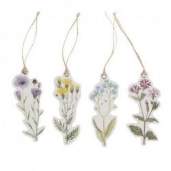Lot de 12 étiquettes - Fleurs sauvages - Sass & Belle