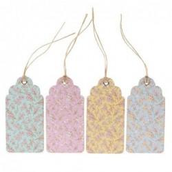 Lot de 12 étiquettes - Grace Floral - Sass & Belle