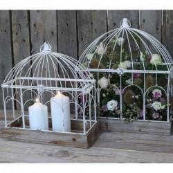 Grande cage à oiseaux - Chic Antique