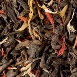 Thé noir parfumé - Dammann Frères - Pu-Erh Gourmand - 100g