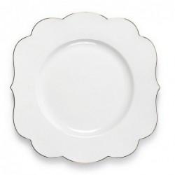 Assiette plate Royal White nue - Pip Studio - 28cm