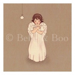 Sérigraphie - Belle and Boo - Little angel