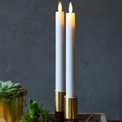 Bougies LED - Sirius - Sara - Set de 2 - Blanc