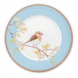 Assiette à dessert - Oiseau bleu  - Pip Studio - 21 cm