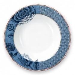 Pip Studio - Assiette creuse Spring to life - 22 cm - Bleu