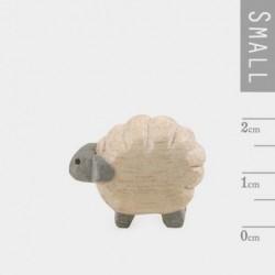 Miniature sculptée en bois - East of India - Mouton