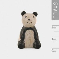 Miniature sculptée en bois - East of India - Panda