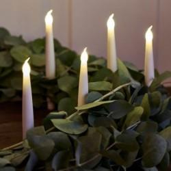 Bougies LED - Sirius - Carolin - Set de 4 - Blanc