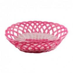 Corbeille en plastique - Rice - rose - XL