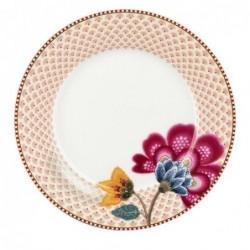 Assiette à dessert Fantasy Bloom blanc - Pip Studio - 21cm