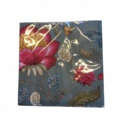 Lot de 20 serviettes en papier Fantasy bloom bleu - Pip Studio