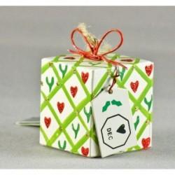 Paquet cadeaux - Suspension pour sapin - Gisela Graham