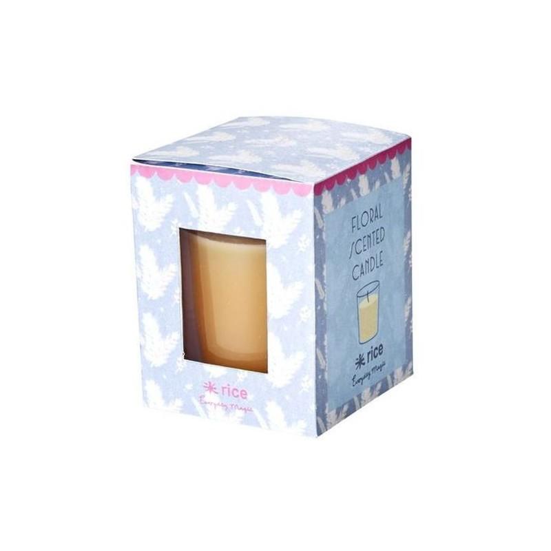 Petite bougie parfumée - Rice - Floral