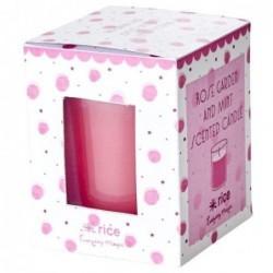 Petite bougie parfumée - Rice - Rose Menthe