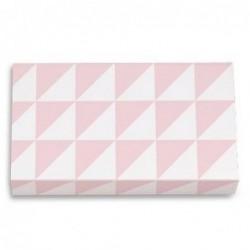 Grande boite d'allumettes - Krima et Isa - triangles pink