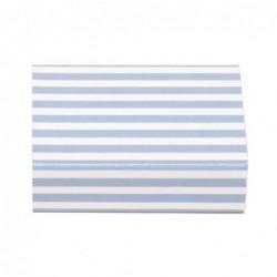 Petite boite d'allumettes - Krima et Isa - stripes blue