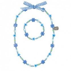 Collier et bracelet - Souza - Cylene - Bleu