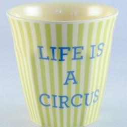 Gobelet - Rice - Mélamine - Boys circus - Life
