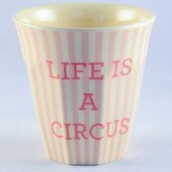 Gobelet - Rice - Mélamine - Girls circus - Life circus