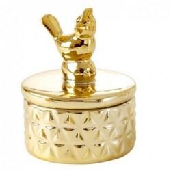 Boite à bijoux  - Rice - Moineau - Or