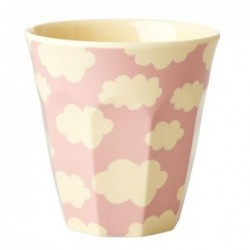 Gobelet - Rice - Mélamine - Cloud pink