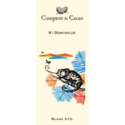 Tablette de chocolat - Route des origines - Blanc 31 % - St Domingue - 80g