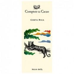 Tablette de chocolat - Route des origines - Noir 64 % - Costa Rica - 80g