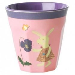 Gobelet - Rice - Mélamine - Pink Bunny