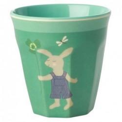 Gobelet - Rice - Mélamine - Green Bunny