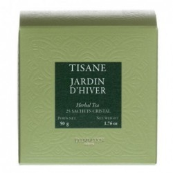 Tisane Jardin d'hiver - Dammann Frères - 25 sachets®