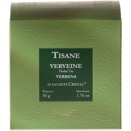 Tisane Verveine - Dammann Frères - 25 sachets Cristal®