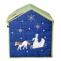 Maison Range jouet - Rice - Reine des neiges d'Andersen - Grand Modèle