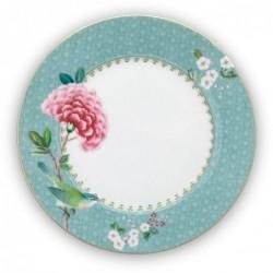 Assiette à dessert - Blushing Birds - Bleu - Pip Studio - 21 cm
