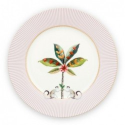 Assiette à dessert - La Majorelle - Rose - Pip Studio - 21 cm