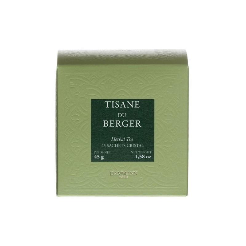 Tisane du Berger - Dammann Frères - 25 sachets Cristal®