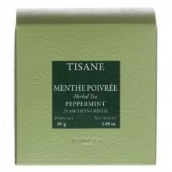 Tisane Menthe poivrée - Dammann Frères - 25 sachets Cristal®