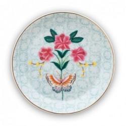 Coupelle repose sachet - Blushing Birds - Blanc - Pip Studio - 9 cm