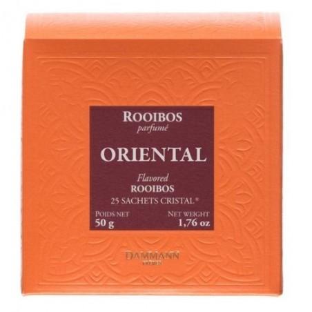 Boite 25 sachets Cristal - Dammann Frères - Rooibos Oriental