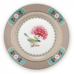 Assiette à dessert - Blushing Birds - Kaki - Pip Studio - 17 cm