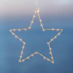 Etoile lumineuse LED - Sirius - Liva - Gold - 40L
