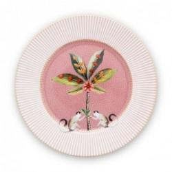 Assiette à dessert - La Majorelle - Rose - Pip Studio - 17 cm