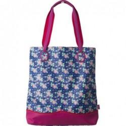 Sac cabas - Rice - Blue flower prints