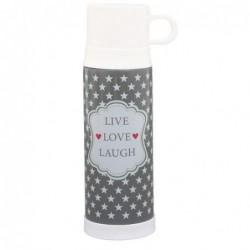 Thermo - Krasilnikoff - Taupe Live Love Laugh