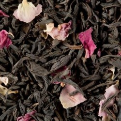 Thé noir parfumé - Dammann Frères - Rose - 100g