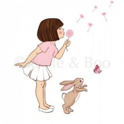 Sticker mural - Belle and Boo - Dandelion
