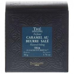 Boite 25 sachets Cristal - Dammann Frères Oolong caramel au beurre salé