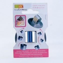 Poussoir inox pour cercle 6.3 cm - Scrapcooking®